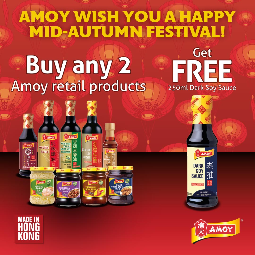 Authentic tastes under 15 mins from Amoy