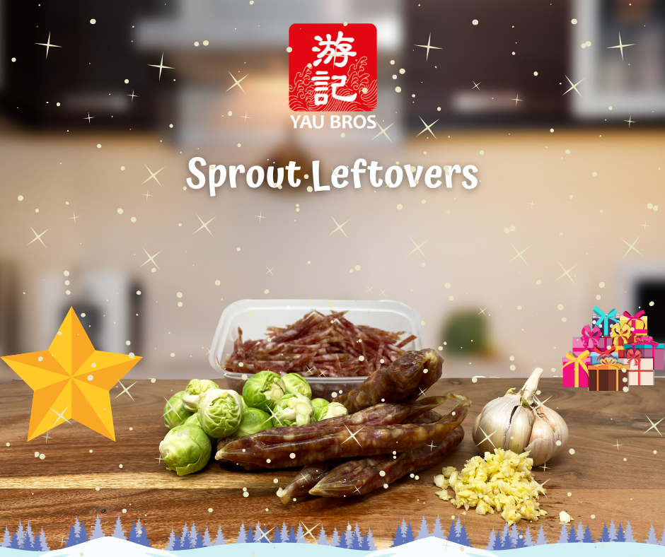 Yau Bros Festive Sprout Leftovers